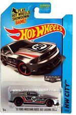 2014 Hot Wheels #91 HW City '12 Ford Mustang Boss 302 Laguna Seca Zamac #18