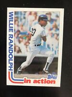 "1982 TOPPS #570 WILLIE RANDOLPH ""IN ACTION""— TOUGH IN HIGH GRADE💥*** (wph)"