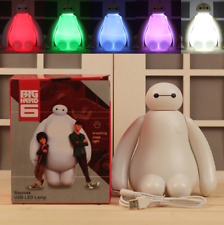 Cartoon Color Changing Big Hero 6 Baymax USB Charging Night Light LED Desk Lamp