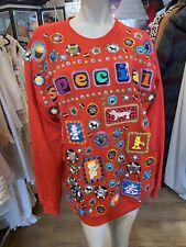 Vintage 1980s 80s Dianne Vetromile The Original Junker Sweatshirt Red