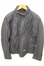 G-STAR RAW 3301 MENS DENIM NOMAD OVERLOADED MOTO JACKET COAT SZ L PHARRELL