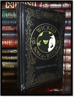 Wicked & Son of a Witch by Gregory Maguire New Sealed Leather Bound Hardback