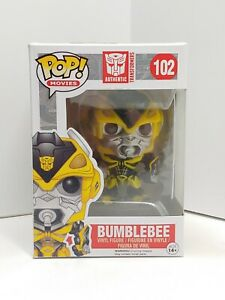 Funko POP! Movies Transformers Figure Age Of Extinction Bumblebee BOX WEAR