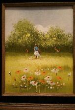 Jean Peltier  Oil painting board wood wow wow