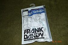1 Men's New Frank Dandy Trunk, Large, 95% Cotton 5% Elastane, Made in China