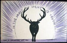 Philadelphia Pa~1907 Elks At Philadelphia ~ In The Midst Of Light Is Truth