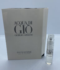 Acqua Di Gio Pour Homme Eau de Toilette EDT Sample Size Spray 1.2mL 0.04 fl oz