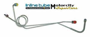 67-72  MOPAR A BODY MANUAL BRAKE DISC OR DRUM MASTER CYLINDER LINE LINES OEM