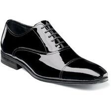 Florsheim Tuxedo Cap Toe Oxford Soft Patent Leather Shoe Black 14213-004