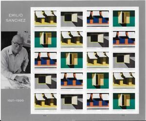 US SCOTT 5594 - 97 SHEET OF 20 EMILO SANCHEZ STAMPS FOREVER MNH