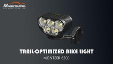 MAGICSHINE Allty 2000 Lumen USB Bicycle Front Light Black 7000mah OLED Screen