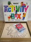 Vintage Children's Activity Box 240 pgs Coloring Painting Watkins Strathmore
