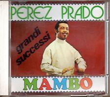 Perez Prado – Grandi Successi Mambo Cd Alpharecord – CD AR 7025 Raro