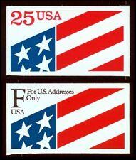 #2475 & 2522 U.S. Flag, Mint **ANY 4=FREE SHIPPING**