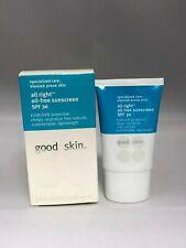 Good Skin All Right Oil-free Sunscreen SPF 30 1.7 oz (BNIB)