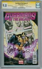 GUARDIANS OF THE GALAXY #1 THANOS CGC 9.8 SIGNATURE SERIES STAN LEE RAMOS MOVIE