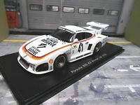 PORSCHE 935 K3 Kremer Winner #41 Le Mans Ludwig Whittington Numero Re Spark 1:43