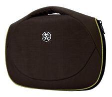 """Crumpler The Mullet Netbook Case Bag 10"""" Chestnut / Dark Lime"""