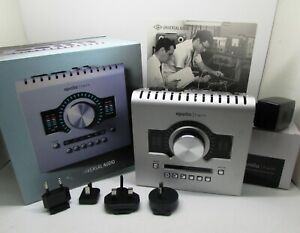 UNIVERSAL AUDIO APOLLO TWIN HIGH RESOLUTION THUNDERBOLT INTERFACE UAD 2 DUO CORE