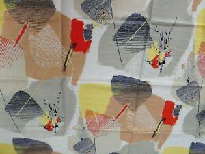 1 x Original 50er Jahre Gardinen Vorhänge Vorhang Stoff Rockabilly 120 x 115 -4-