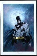 BATMAN MOONLIGHT ART PRINT by MICHAEL TURNER & PETER STEIGERWALD  / HTF