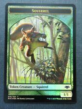 Squirrel Token Foil - Modern Horizons - Mtg Magic Cards # 7J76