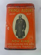 VINTAGE ADVERTISING PRINCE ALBERT NOW KING TOBACCO VERTICAL POCKET TIN  264-Y