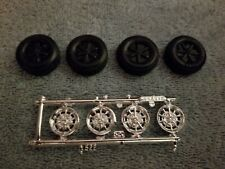 Amt 1/25 1968 Ford Gt-500 Shelby Mustang Wheels & Goodyear Tires Parts Lot