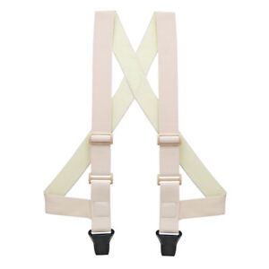 Undergarment Suspenders - BEIGE - Airport Friendly SIDE CLIP