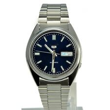 SEIKO 5 SNXS77 SNXS77K1 Automatic 21 Jewels Blue Dial Stainless Steel Men Watch