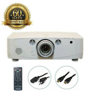 NEC PA500U 3LCD Projector 5000 ANSI HP 1080p HDMI 1920x1200 w/Accessories