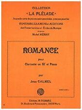 Romance pour Clarinette en Si b et Piano
