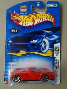 Hot Wheels 2003 First Editions RED Enzo Ferrari 24/42 Mint On Card