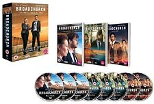 BROADCHURCH 1-3 (2014-2017)  COMPLETE Drama TV Season Series - NEW R2 DVD not US