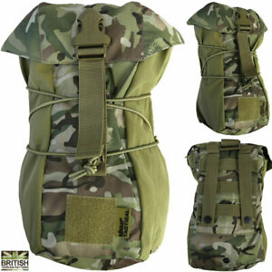 Kombat Army Military Stuffer Pouch Bag Molle Bungee Utility Dump Army Camo New