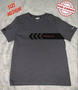 Porsche 911 RSR Spearhead Driver's Selection T Shirt Unisex Dark Grey Medium