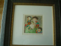 GRACIELA RODO BOULANGER - Attractive Framed Original Lithograph - Pencil Signed