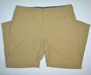 Mint MOUNTAIN HARDWEAR Convertible Zip Off Lightweight Brown Pants 42 x 30