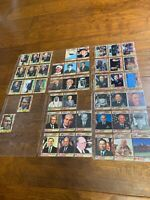 1991 Topps Desert Storm Trading Cards lot of 44 Leaders 2 George H Bush Powell