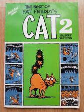 More details for the best of fat freddy's cat 2 gilbert shelton rare 1984 paperback book humour