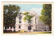 Canada ADMIRAL ISSUE-COIL PAIR-SG#256-MONCTON N.B.AUG/7/1939-postcard