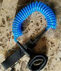 Surfboard Leash 10' Coiled NEW!! Stand UP Paddle Board Leash SUP - Blue