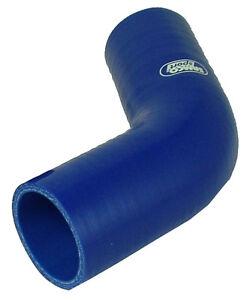 Samco Sport Silikon 60° Krümmer Durchmesser 20mm blau