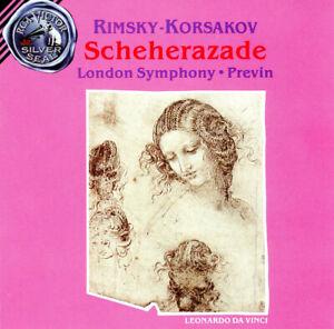 Rimsky-Korsakov Scheherazade London Symphony Previn Audio Cassette Tape (1990)