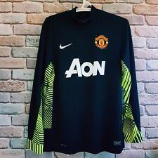 Manchester United 2011 2012 goalkeeper gk long sleeve shirt size L David De Gea