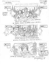 "Original ""CHRISTMAS VACATION"" Storyboards"