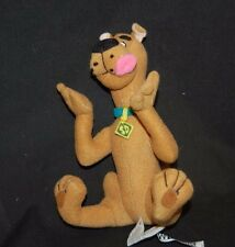 "Scooby Doo Brown Dog Pink Tongue 8""  Cartoon Network Plush Stuffed Animal  Toy"