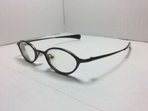 Vintage 90's Freudenhaus Munich Eyeglasses FRAMES ZOE Satin Brown 45[]25 135