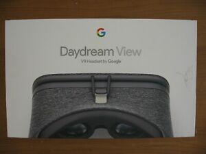 Google Daydream View VR Headset - Slate Gray NOB