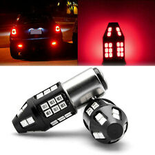 1157 BAY15D Red Flashing 5 Times Strobe Blinking Warning LED Brake Tail Light